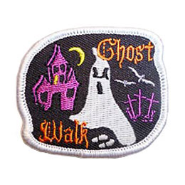 Ghost Walk - Glow in the Dark (Iron On)