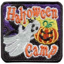 Halloween Camp - Glow in the Dark (Iron On)