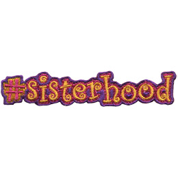 #sisterhood (Iron On)