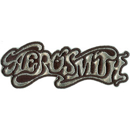The band name \\\\\\\'Aerosmith\\\\\\\' is written in wispy, smokey letters. The background is solid black.