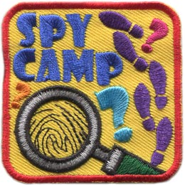 Spy Camp (Iron On)
