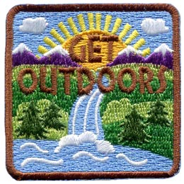 Get Outdoors (Iron On)