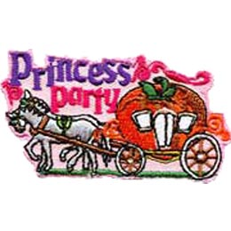 Princess Party, Party, Carriage, Horse, Queen, Princess, King, Queen, Merit Badge, Patch, Crest, Girl Scouts, Girl Guides