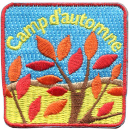 Camp d'automne (thermocollant)