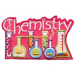 Chemistry, Beaker, Flask, Science, Experiment, Merit Badge, Patch, Crest, Boy, Girl, Scouts, Guides