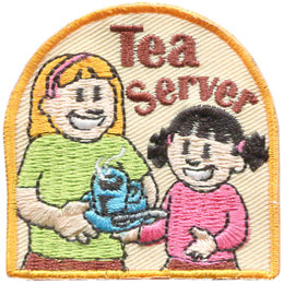 Tea Server (Iron On)