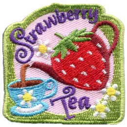 Strawberry Tea (Iron On)