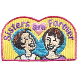 Sisters Are Forever (Iron On)