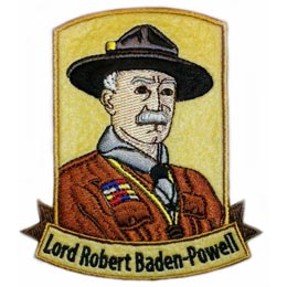 Lord Robert Baden-Powell (Iron On)