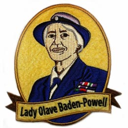Lady Olave Baden-Powell (Iron On)