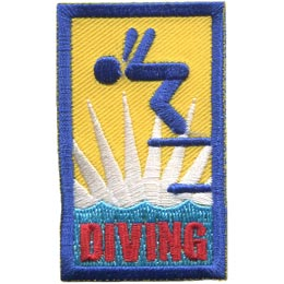 Diving (Iron On)