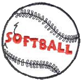 Softball, Baseball, Sports, Fitness, Team, Crest, Patch, Merit Badge