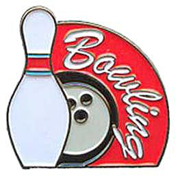 Bowling, Pins, Soft Enamel, Lapel Pins, Alley, Balls, Spare, Strike, Turkey, Badger, Deuce,