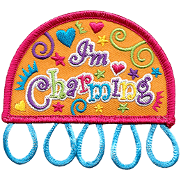 I'm Charming Charm Patch (Plastic)