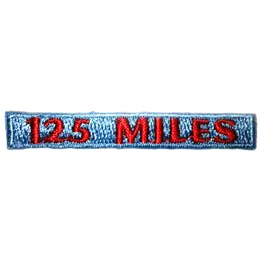 Hiking - 125 Miles Rocker (Iron On)