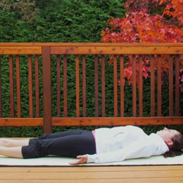 <p>Become a yogi or yogini by trying out the Corpse Pose. It's easy!</p>