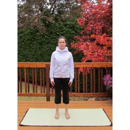 <p>Become a yogi or yogini by trying out the basic starting position: Mountain Pose.</p>