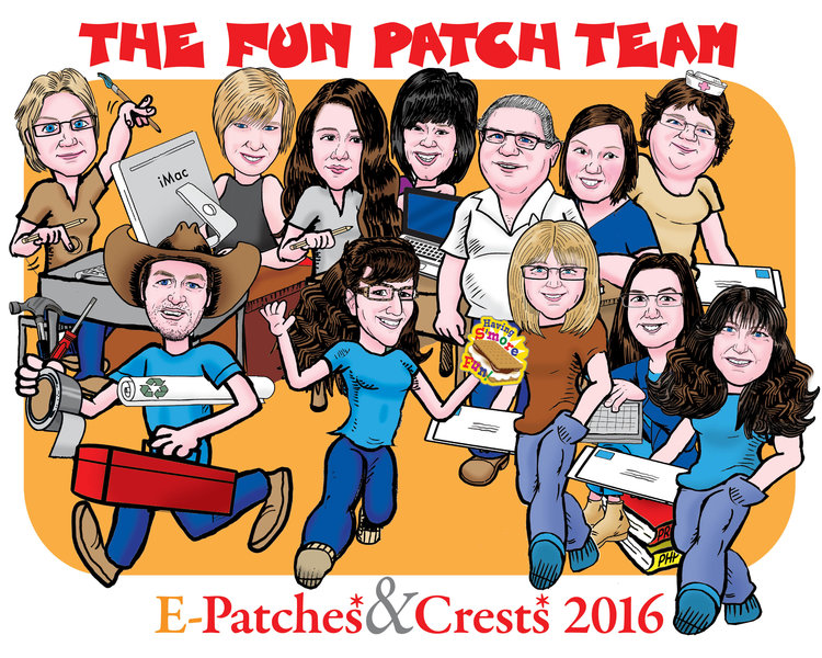 E-Patches & Crests Fun Patch Team