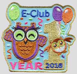 E-Club 1st Year patch
