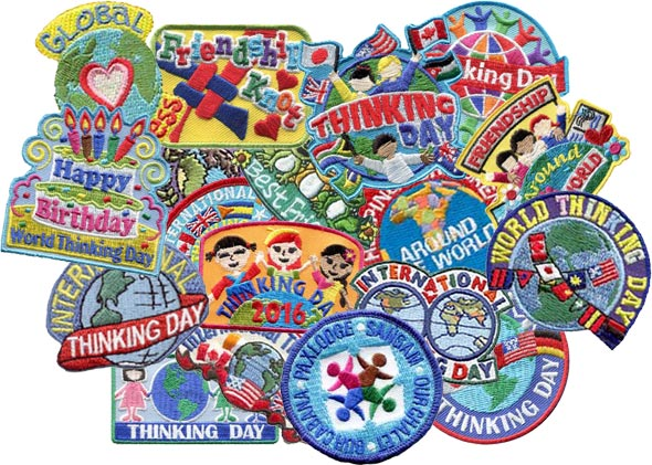 Thinking Day Collage