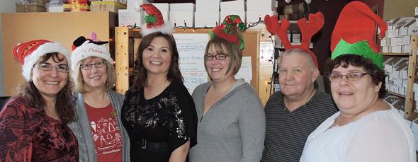 The Fun Patch Team celebrates Christmas