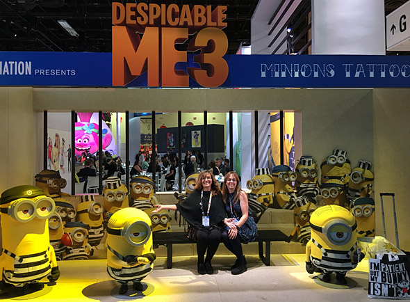 Lori and Julaine at the Licensing Expo
