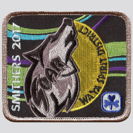 custom patch of the month