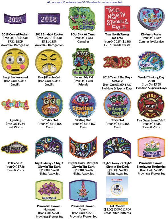 New patches for this month